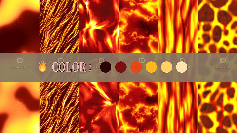 GOOD BURNING Textures UE4 UNITY VFX Game Ready