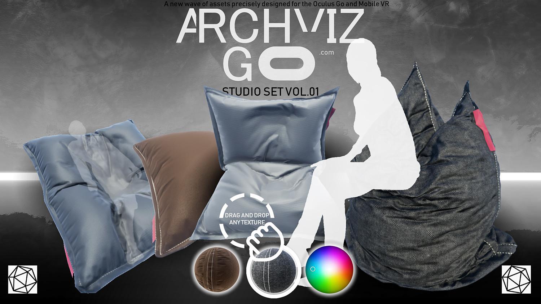 Oculus GO - Studio VOL 01HD [UE4] VR Assets