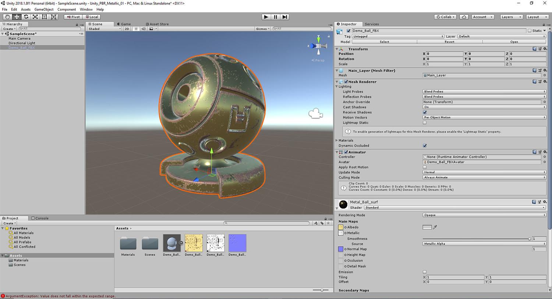 Substance Painter- Vol  #9- Unity 3D PBR Workflows