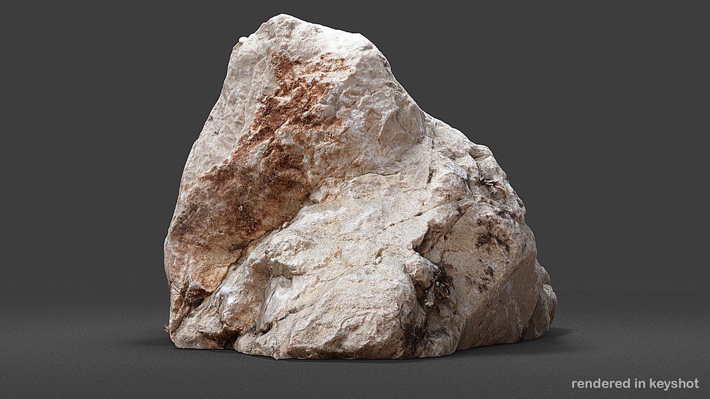 UE4 Photogrammetry 3D Scan Stone Pack VOL 1