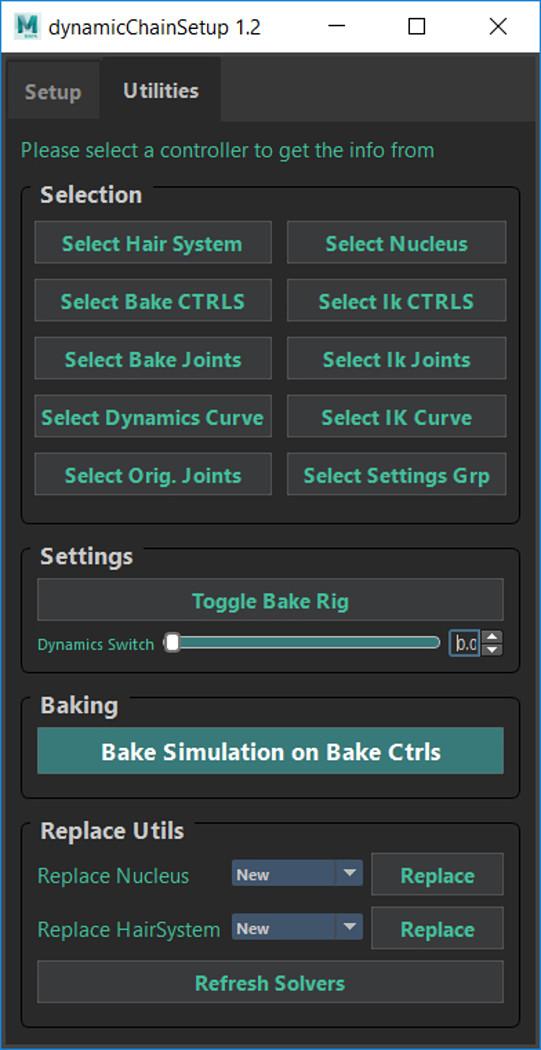 Dynamic Chain Setup Tool 1 2