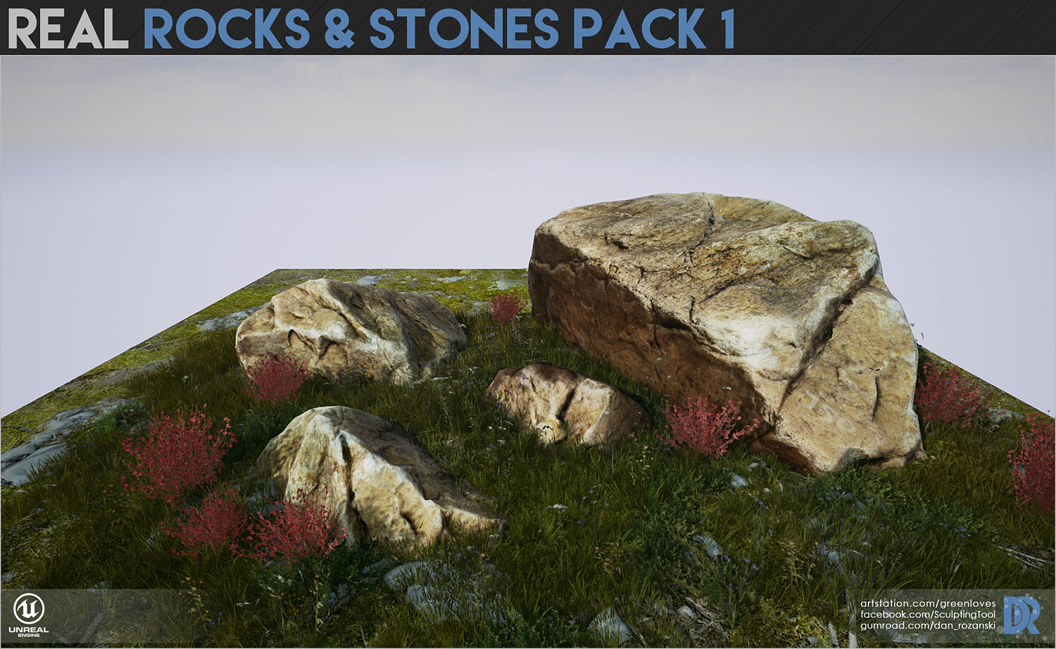 Real Rocks and Stones pack I