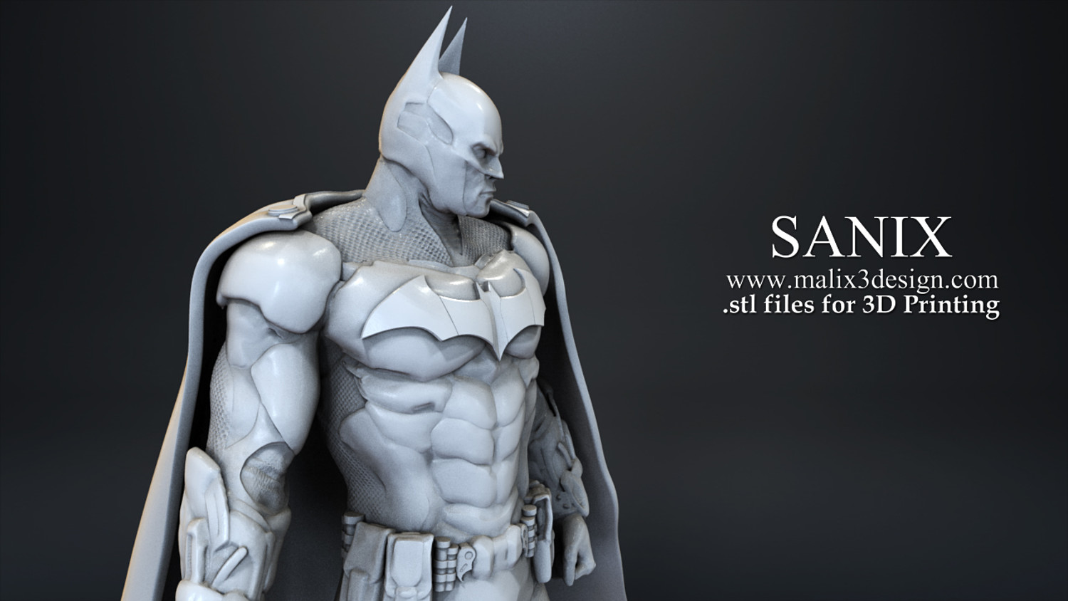 Justice League - 6 characters for 3D Printing