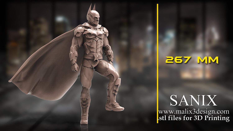 Batman Diorama 3D Print Model