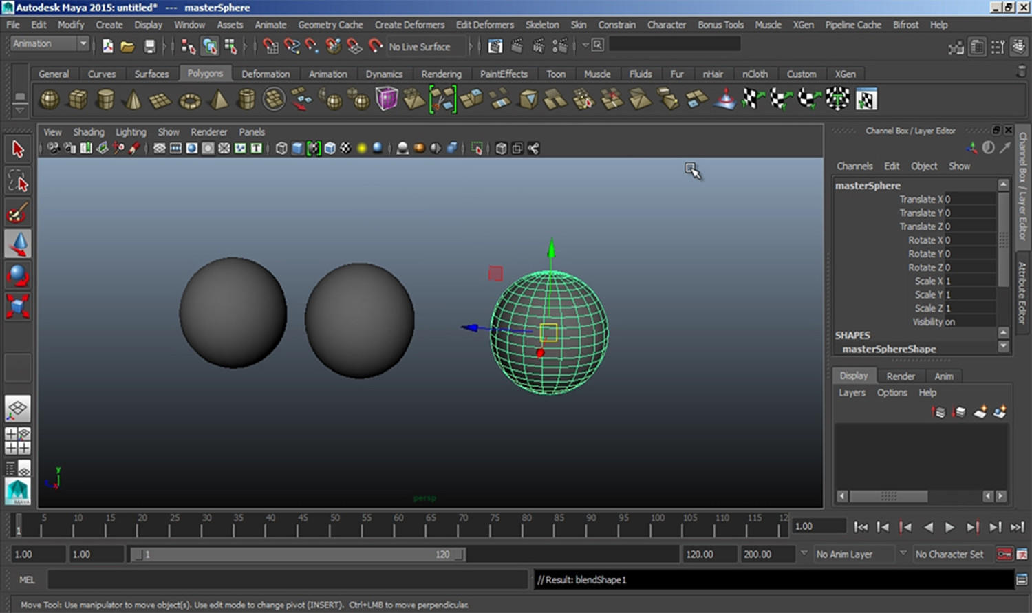 Introduction to Blendshapes in Maya