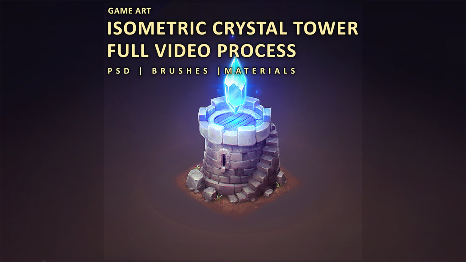 ISOMETRIC CRYSTAL TOWER