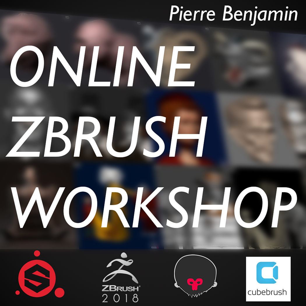 Online ZBrush Workshop 2019 - Character