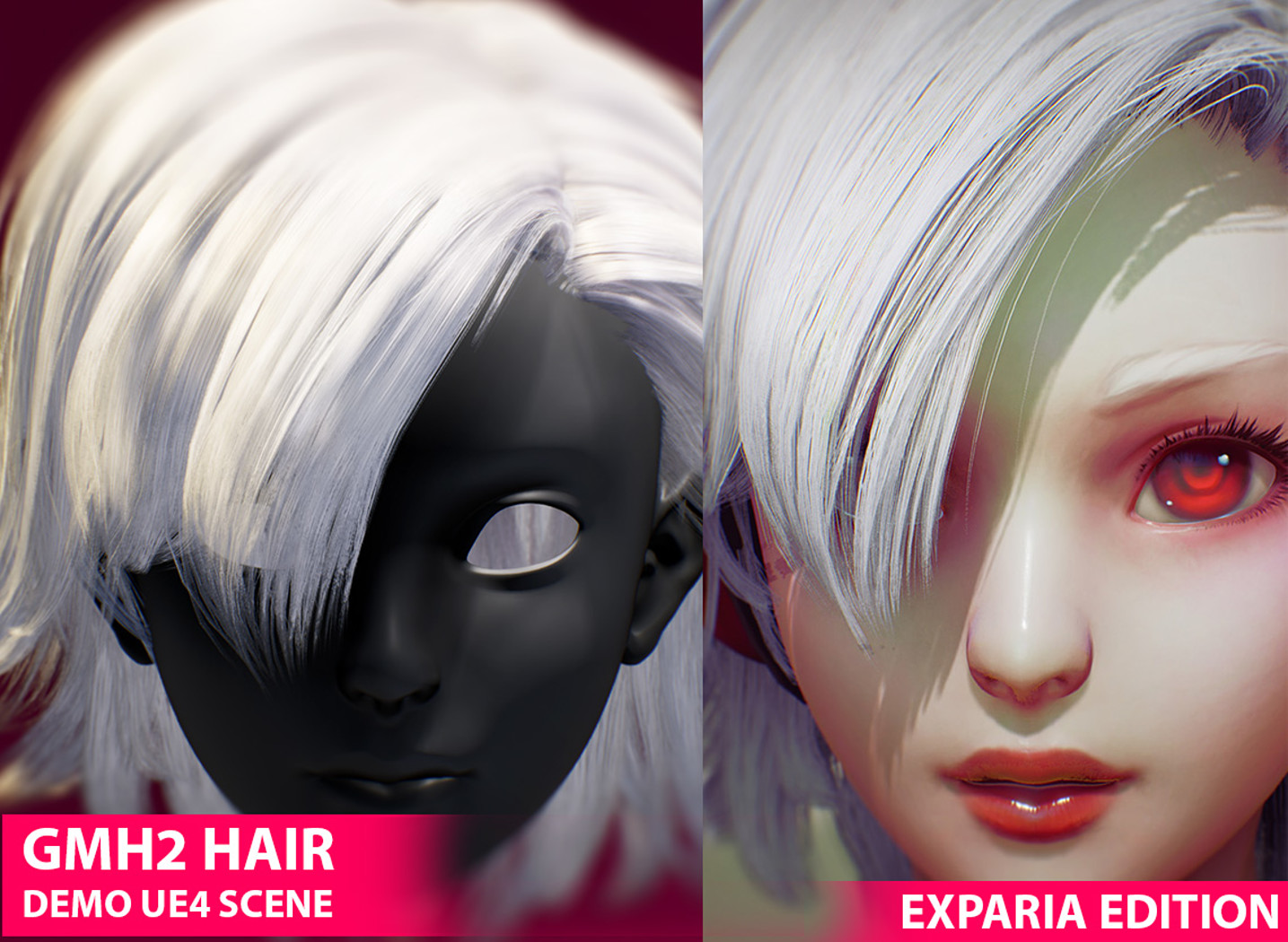 UE4 - GMH2 Realtime Hair Package