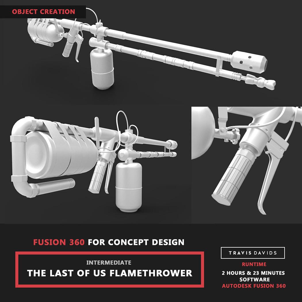 Flamethrower Tutorial - Object Creation