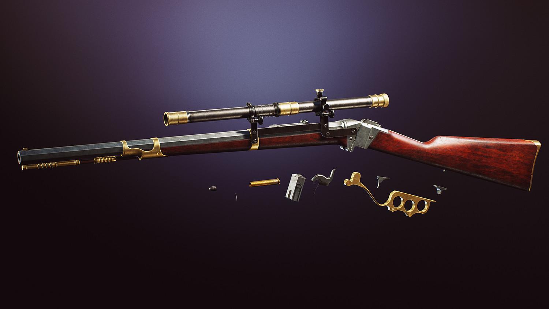 Western Guns 4K FPS VOL 3 [UE4+RAW]