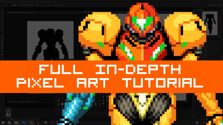 pixel art character tutorial