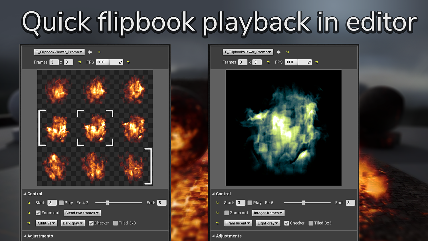 Flipbook Viewer for Unreal Engine
