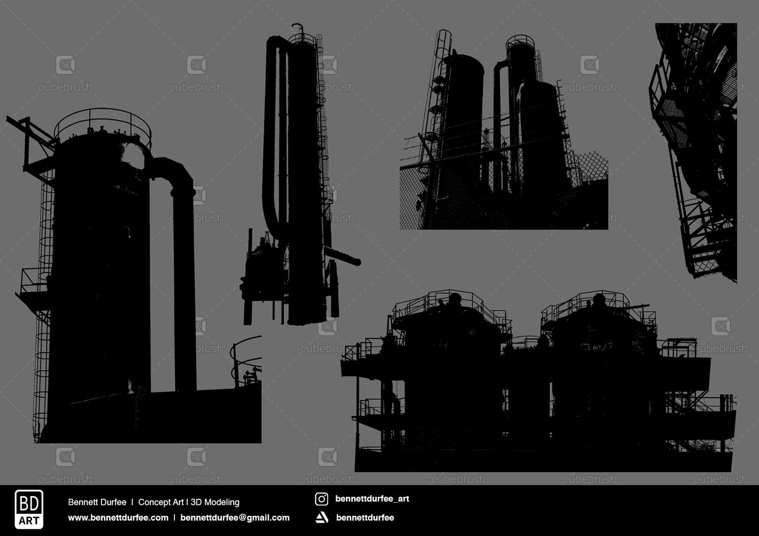 City Creator Kit - Custom Shapes & Brush Presets