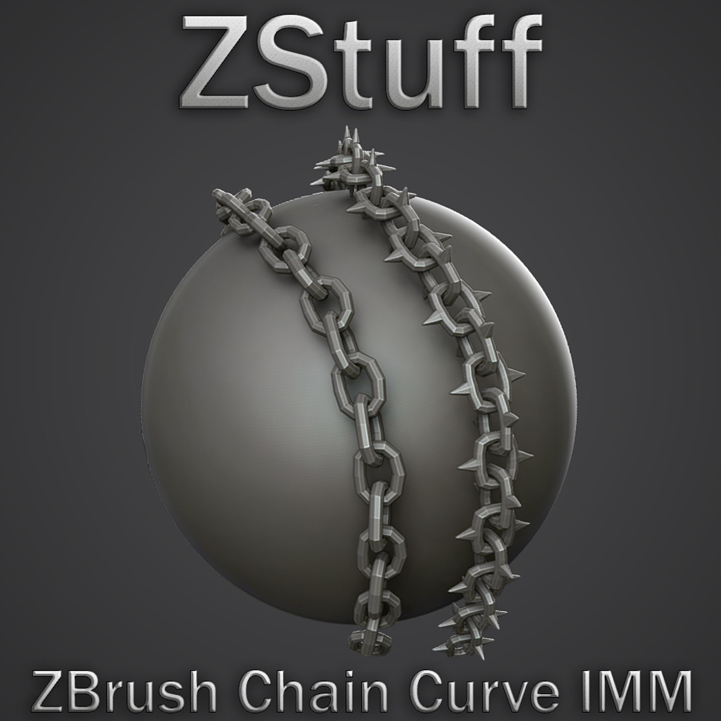 Zbrush Chain Curve IMM Brush