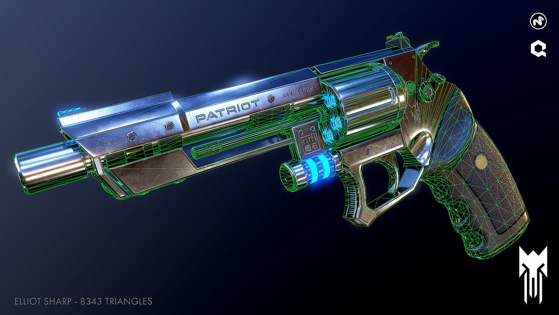 Free Download] Sci-Fi Revolver + Practice Kit