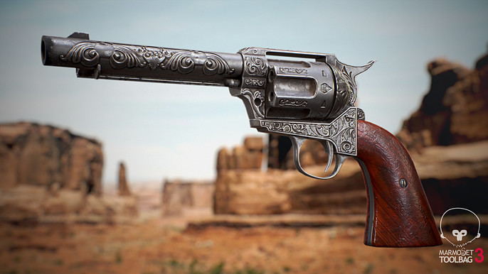 3D Tutorial: Creating a Colt Single Action 45 by Emre