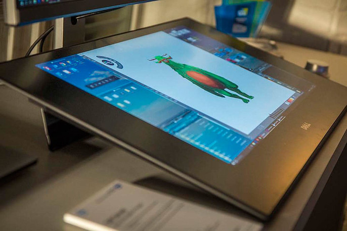 Dell Announces 'Canvas', a 27-Inch Tablet Monitor - Cubebrush